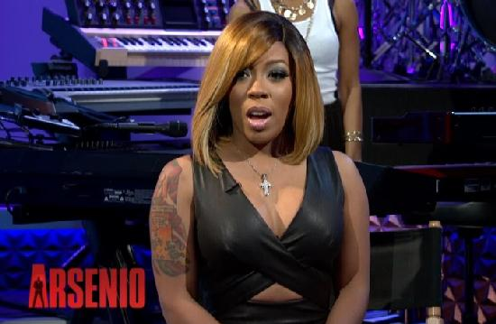 k michelle - on arsenio