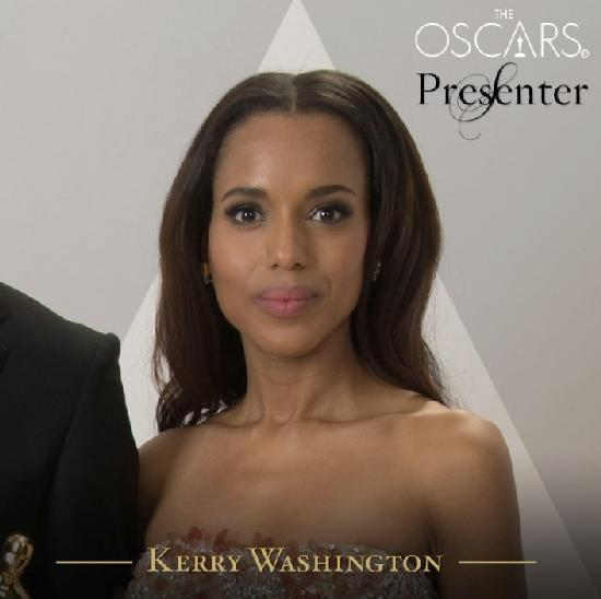 kerry washington - oscar presenter