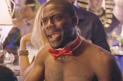 kevin hart (bare chest)