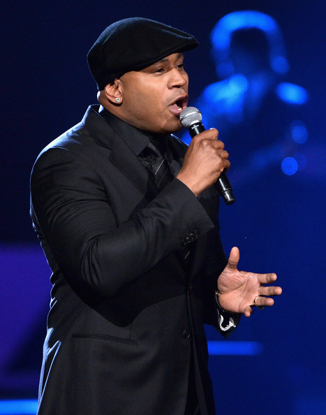 Host LL Cool J speaks onstage during 'The Night That Changed America: A GRAMMY Salute To The Beatles' at the Los Angeles Convention Center on January 27, 2014 in Los Angeles, California