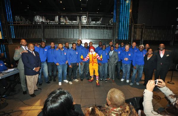 mcdonalds - nfl players