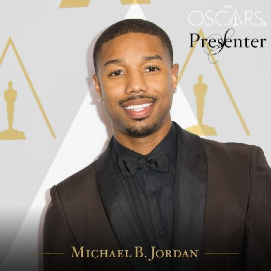 michael b jordan - oscar presenter