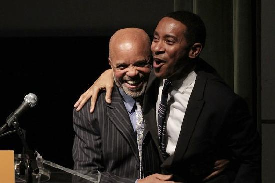 Motown Founder Berry Gordy with 'Motown The Musical' director Charles Randolph-Wright