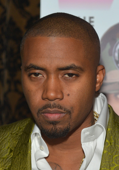 Rapper Nas attends the VIBE Impact Awards presented in partnership with Malibu Red at the Carondelet House on January 24, 2014 in Los Angeles, California.