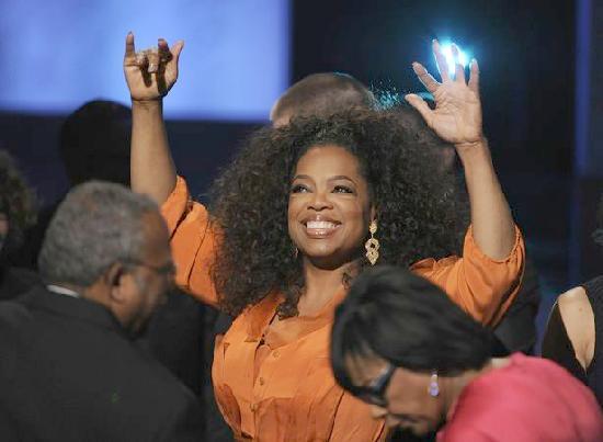 oprah winfrey - naacp image awards