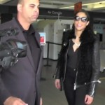 Smiling Paula Patton Lands in LA…With No Wedding Ring