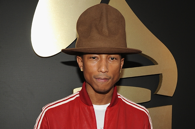 Pharrell Williams  attends the 56th GRAMMY Awards at Staples Center on January 26, 2014 in Los Angeles, CA