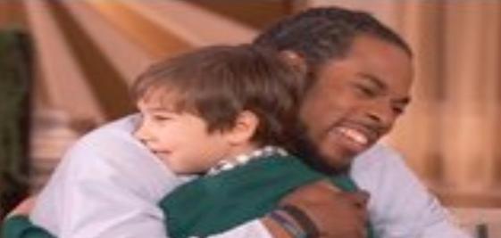richard sherman & kid