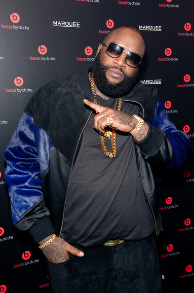 Rick Ross attends Beats By Dr. Dre special event At Marquee New York on January 31, 2014 in New York City