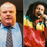 Toronto Mayor Rob Ford Declares Bob Marley Day