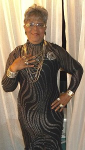 """Rosa Pryor-Trusty aka 'Rambling Rose' joins judges panel at the Baltimore """"Uplifting Minds II"""" entertainment conference."""