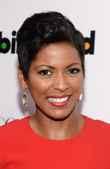 News anchor Tamron Hall attends Billboard's annual Women in Music event at Capitale on December 10, 2013 in New York City