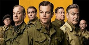 Columbia Pictures presents The Monuments Men starring George Clooney and Matt Damon.