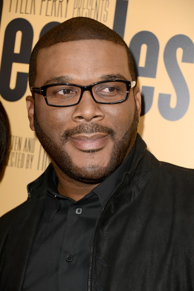 Producer Tyler Perry arrives at the premiere of 'Peeples' presented by Lionsgate Film and Tyler Perry at ArcLight Hollywood on May 8, 2013 in Hollywood, California