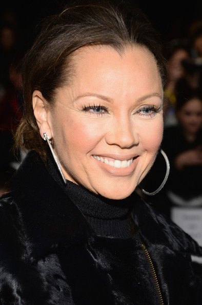 Vanessa Williams attends Carmen Marc Valvo fashion show during Mercedes-Benz Fashion Week Fall 2014 at The Salon at Lincoln Center on February 7, 2014 in New York City