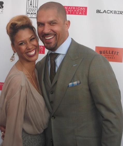 Victoria Platt and Terrell Tilford
