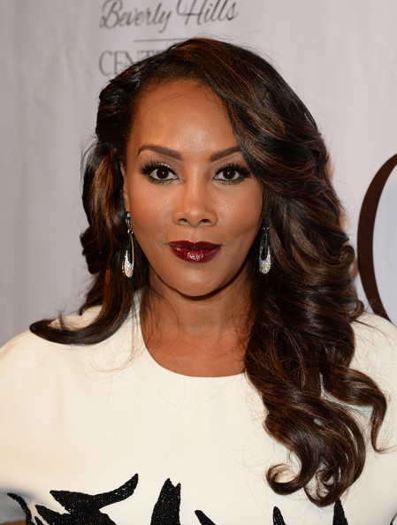 Actress Vivica A. Fox attends the EXPERIENCE: East Meets West event hosted by the Beverly Hills chamber of commerce at Crustacean on February 5, 2014 in Beverly Hills