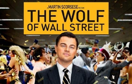 wolf of wall street (poster)