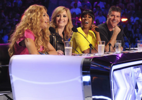 X Factor Judges 2013 Demi Lovato Fox Cancels 'The X F...