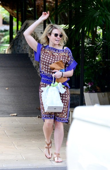 Chelsea Handler at Gwen Stefani's baby shower held at the Bel Air Hotel