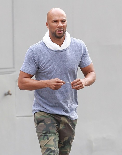 Rapper and actor Common spotted out and about in West Hollywood, California on January 24, 2014
