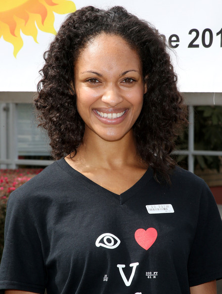"Actress Cynthia Addai-Robinson of the cast of Starz ""Spartacus: War Of The Damned"" lend support at the 2013 Visual Impact Now Annual Eye Clinic Event on March 20, 2013 in Los Angeles, California"