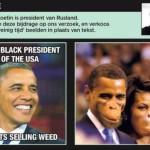 Belgian Newspaper De Morgen Posts Racist Images of the Obamas; Apologizes Amid Public Backlash