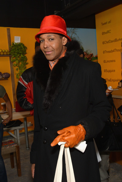 Dwight Eubanks attends the IRC New Roots Pop-Up featuring Chef David Burke on February 9, 2014 in New York City