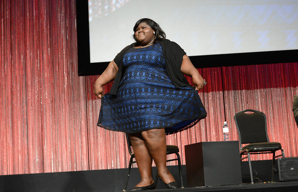 Actress Gabourey Sidibe attends the 2014 PaleyFest - Closing Night Presentation - 'American Horror Story' on March 28, 2014 in Hollywood, California