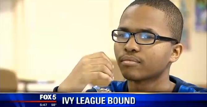 Ivy League bound student, Avery Coffey