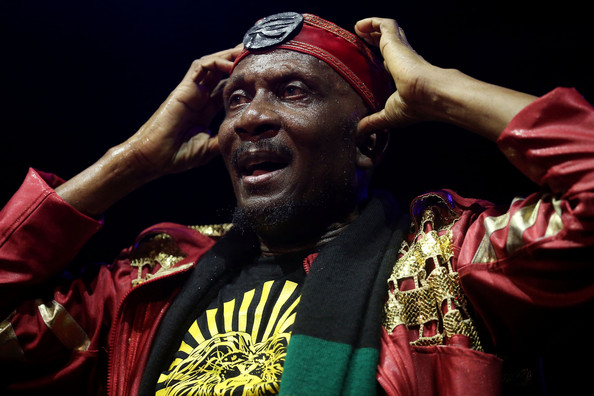 Grammy award winning Reggae artist Jimmy Cliff performs on stage during the Timbre Rock & Roots Festival 2013 on March 22, 2013 in Singapore