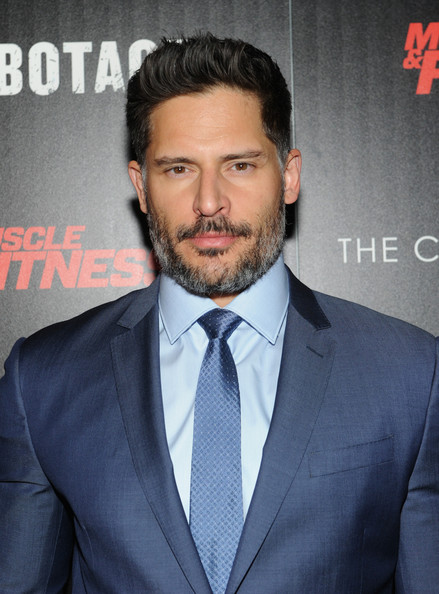 Actor Joe Manganiello attends The Cinema Society with Muscle & Fitness screening of Open Road Films' 'Sabotage' at AMC Loews Lincoln Square on March 25, 2014 in New York City