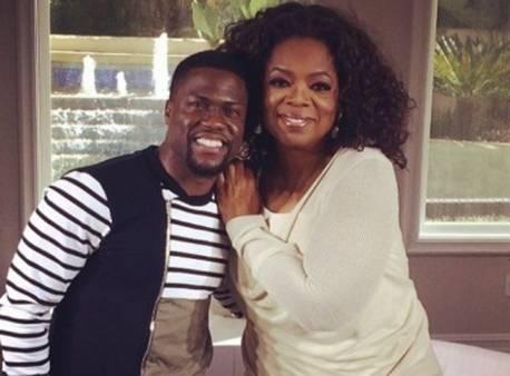 Kevin Hart & Oprah