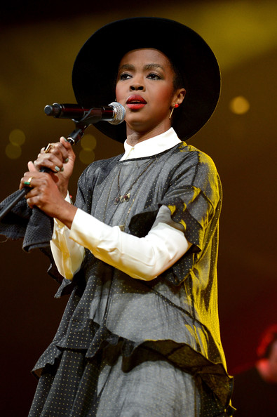Singer/songwriter Lauryn Hill performs onstage at the Amnesty International Concert presented by the CBGB Festival at Barclays Center on February 5, 2014 in New York City