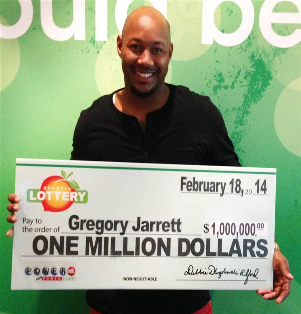 Lottery winner - Gregory Jarrett