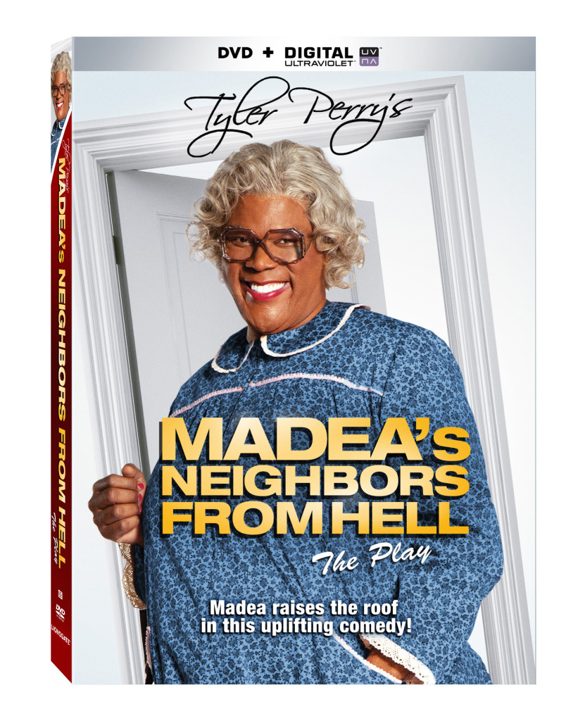 Coming to DVD April 22nd 2014 Tyler Perry's Madea's Neighbors From Hell from Lionsgate Home Entertainment
