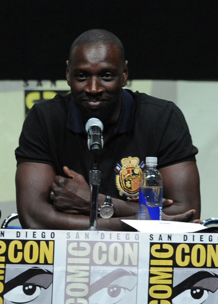 Actor Omar Sy speaks at the 20th Century Fox panel during Comic-Con International 2013 at San Diego Convention Center on July 20, 2013 in San Diego, California
