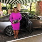 Lincoln correspondant, Bevy Smith, arrives at ESSENCE Black Women In Hollywood in a Lincoln MKZ