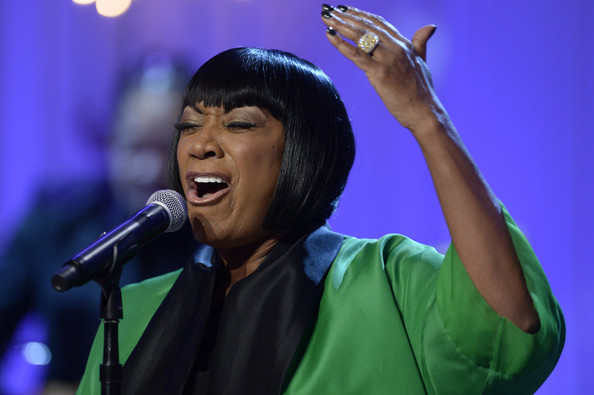 Patti LaBelle (C) performs 'Over the Rainbow' during the event, 'In Performance at the White House - Women of Soul', on March 6, 2014 in the East Room of the White House in Washington DC.