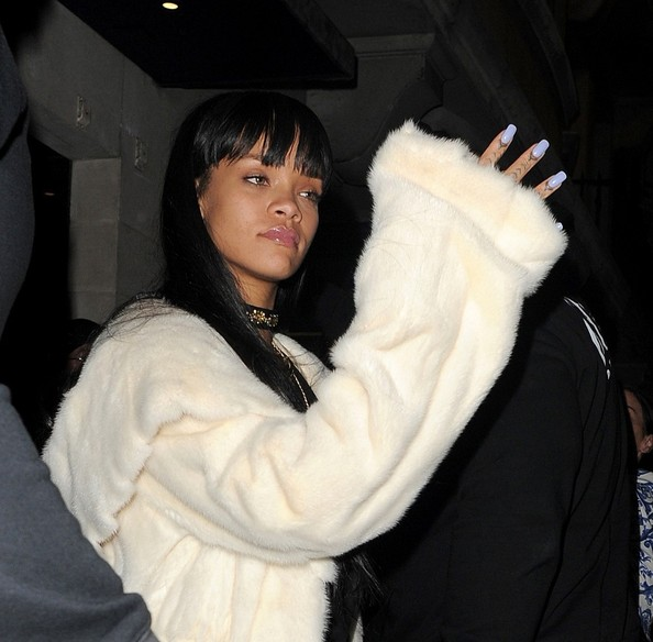 Rihanna at the Tramp club in Mayfair (March 26, 2014)