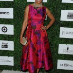 Salli Richardson-Whitfield arrives on the red carpet at ESSENCE Black Women in Hollywood.