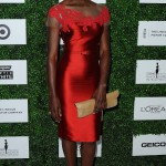 Danai Gurira arrives at ESSENCE Black Women in Hollywood.