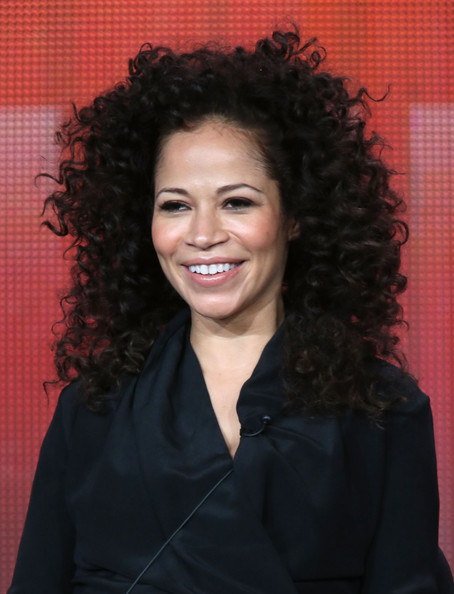 Actress Sherri Saum of the television show 'The Fosters' speaks onstage during the Disney ABC Television Group portion of the 2014 Winter Televison Critics Association press tour at the Langham Hotel on January 15, 2014 in Pasadena