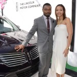 David Oyelowo and Shawn Thompson with the all new Lincoln MKC.