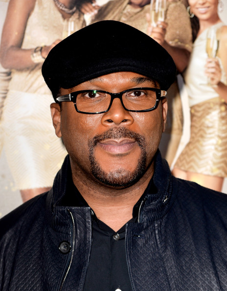 Writer/producer/director Tyler Perry arrives at the premiere of Tyler Perry's 'The Single Moms Club' at the Cinerama Dome on March 10, 2014 in Los Angeles, California