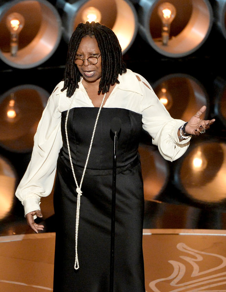 Whoopi Goldberg speaks onstage during the Oscars at the Dolby Theatre on March 2, 2014 in Hollywood, California