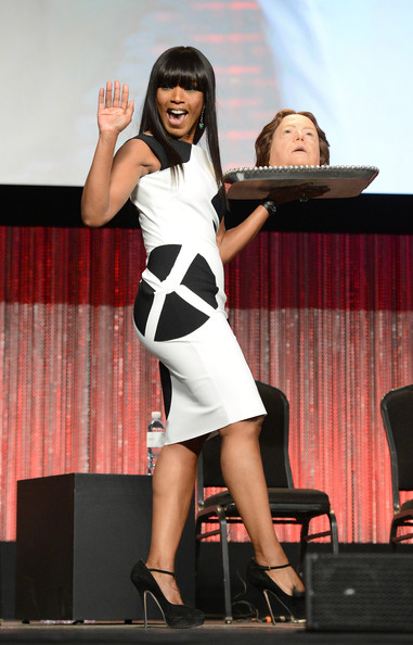 Actress Angela Bassett attends the 2014 PaleyFest - Closing Night Presentation - 'American Horror Story' on March 28, 2014 in Hollywood, California