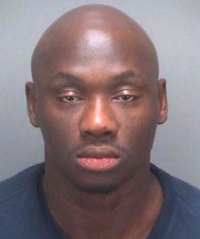 Antonio Tarver's booking photo
