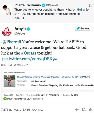 arby's tweet