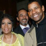 Aretha Franklin Celebrates 72nd Birthday in NYC with Denzel Washington Among Others (Video)